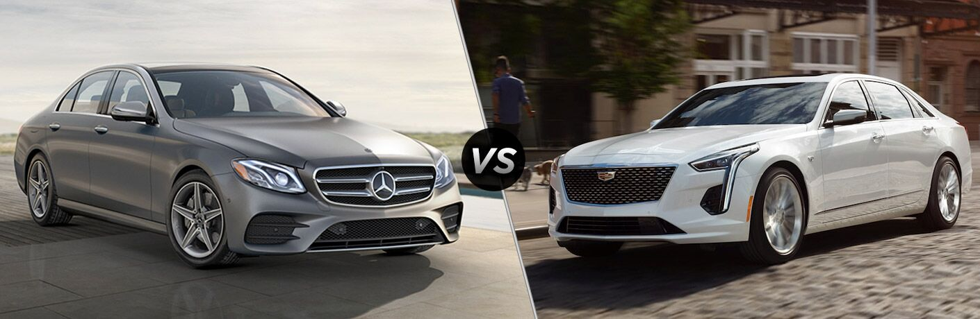 2019 Mercedes-Benz E-Class vs 2019 Cadillac CT6