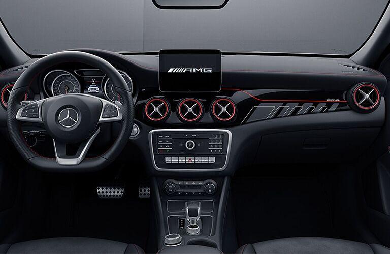 2019 Mercedes-Benz GLA dash view