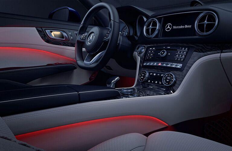 2019 Mercedes-Benz SL interior view