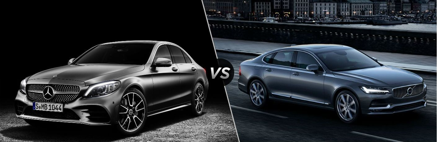 2019 Mercedes-Benz C-Class sedan vs 2018 Volvo S90