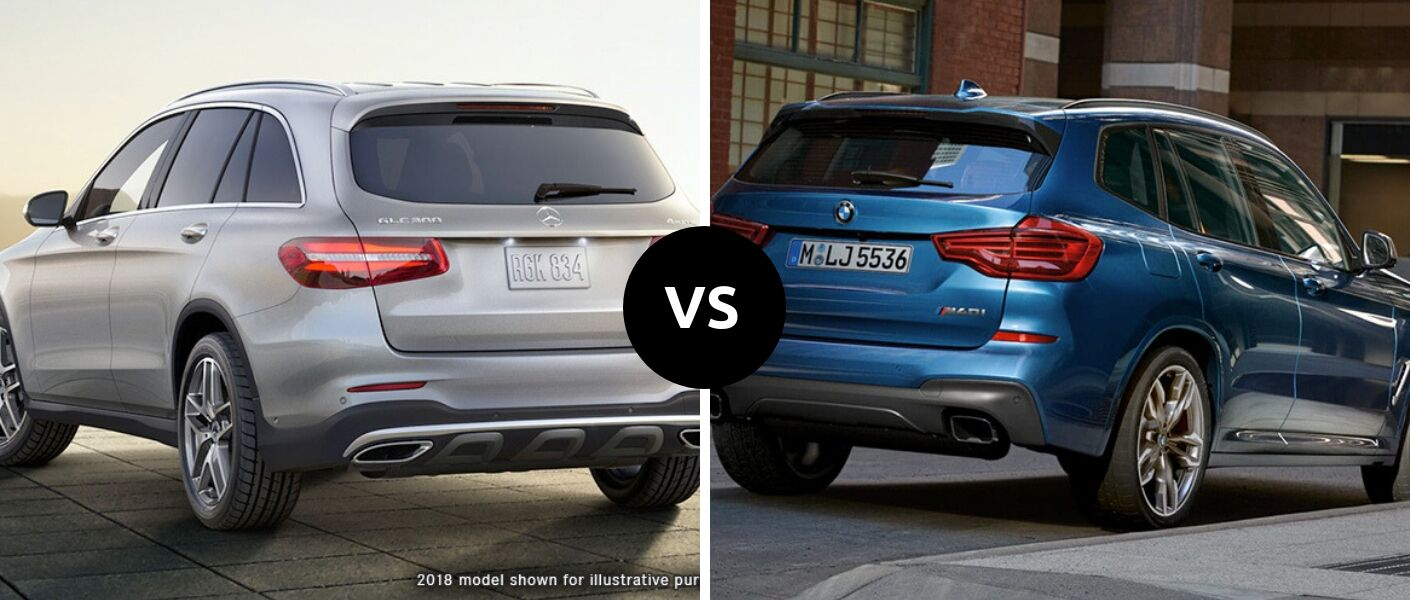 2019 Mercedes-Benz GLC 300 vs 2019 BMW X3 30i