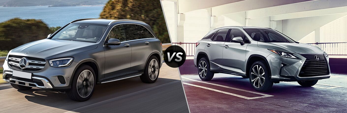 2020 Mercedes-Benz GLC vs 2019 Lexus RX