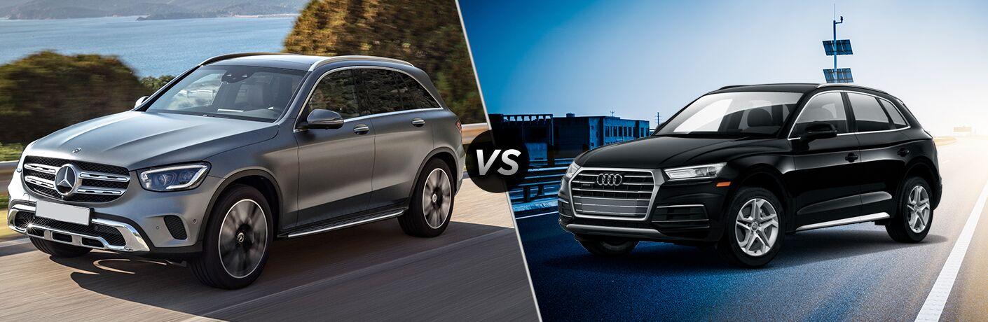 2020 Mercedes-Benz GLC 300 vs 2019 Audi Q5 Premium
