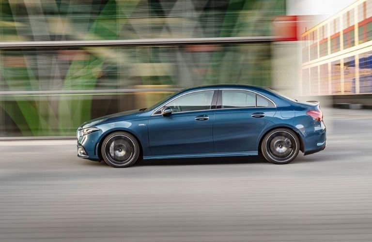 2020 Mercedes-Benz AMG A 35 Sedan from drivers side