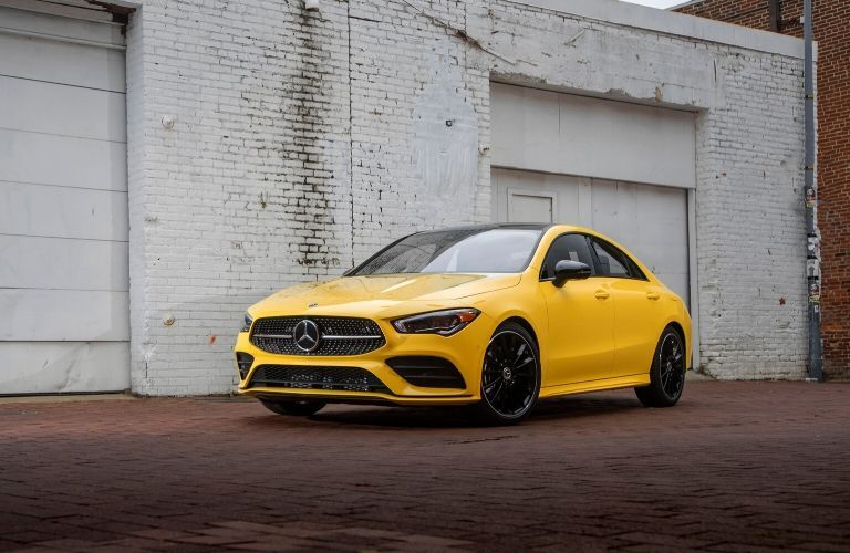2020 Mercedes-Benz CLA from exterior front driver side