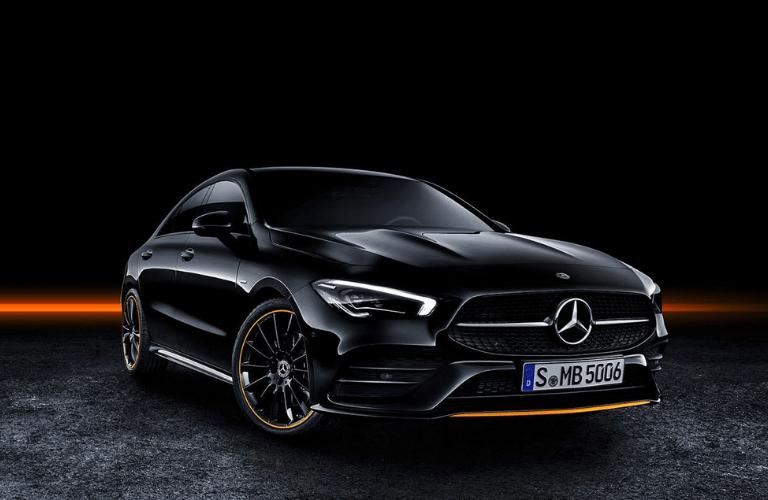 2020 Mercedes-Benz CLA front view