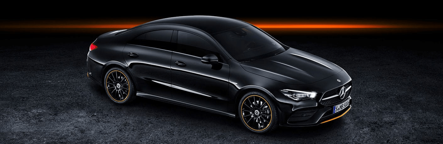 2020 Mercedes-Benz CLA parked in black