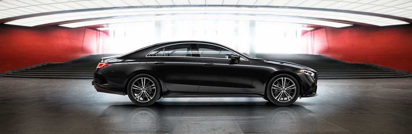 2020 Mercedes-Benz CLS Coupe from exterior passenger side