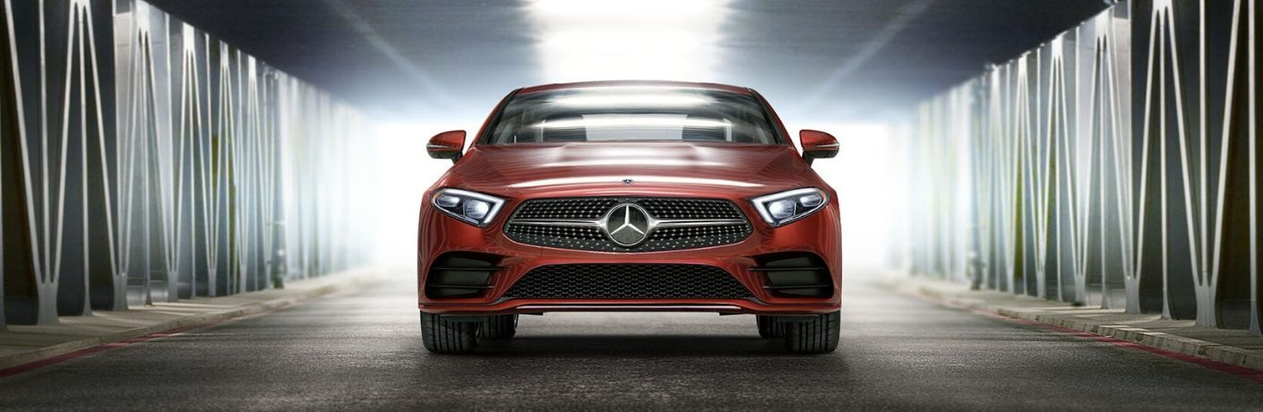 2020 Mercedes-Benz CLA from exterior front