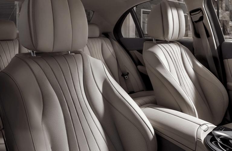 2020 Mercedes-Benz E-Class seat view interior
