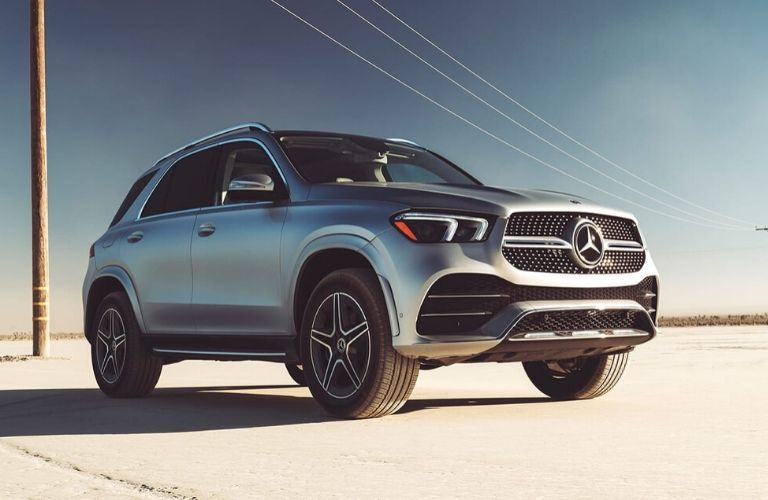 2020 Mercedes-Benz GLE from exterior front