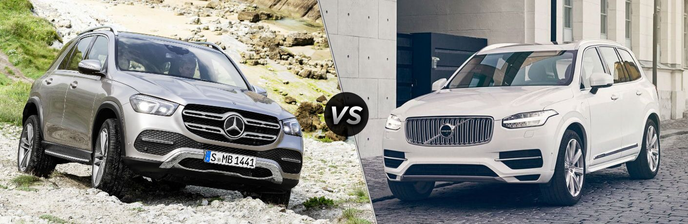2020 Mercedes-Benz GLE vs 2019 Volvo XC90