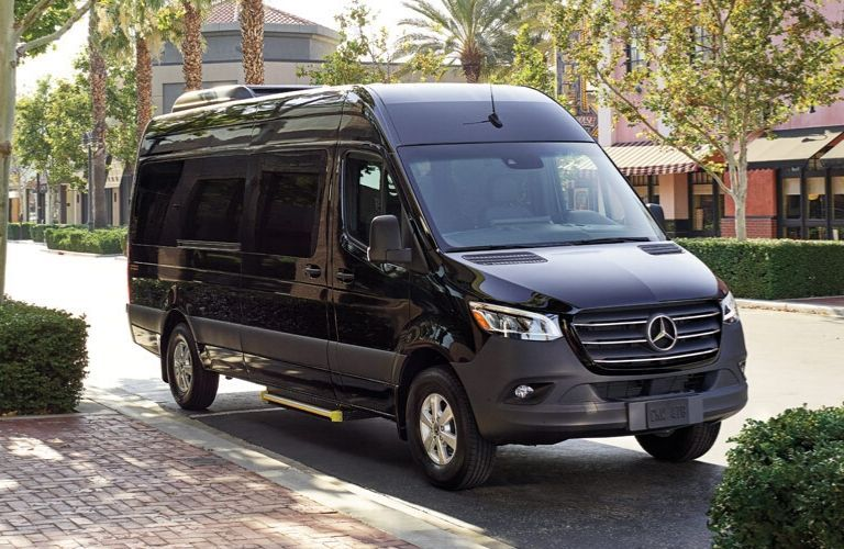 2020 Mercedes-Benz Sprinter Passenger van parked on city street