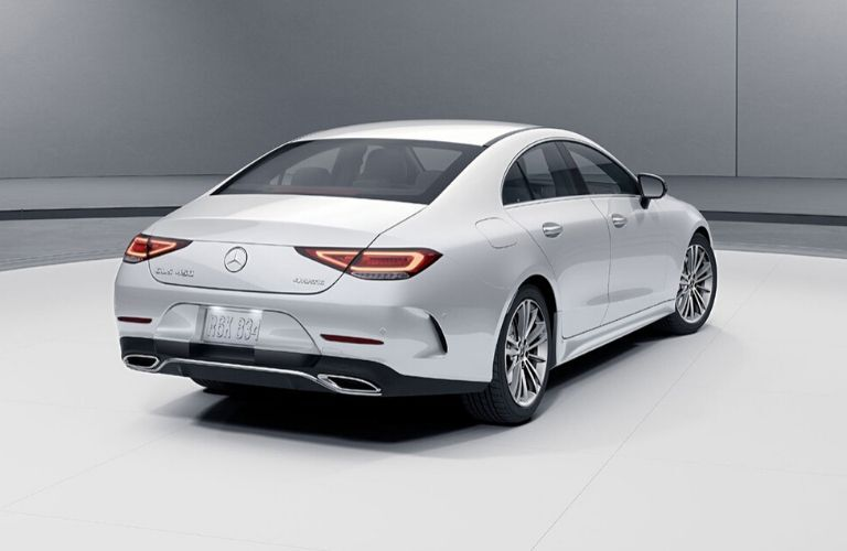 2020 Mercedes-Benz from exterior rear passenger side