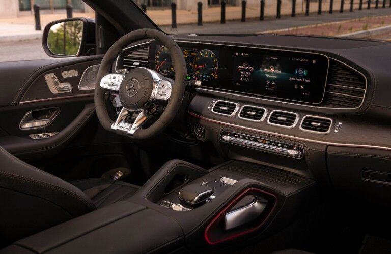 2021 Mercedes-Benz AMG® GLE Coupe front dash