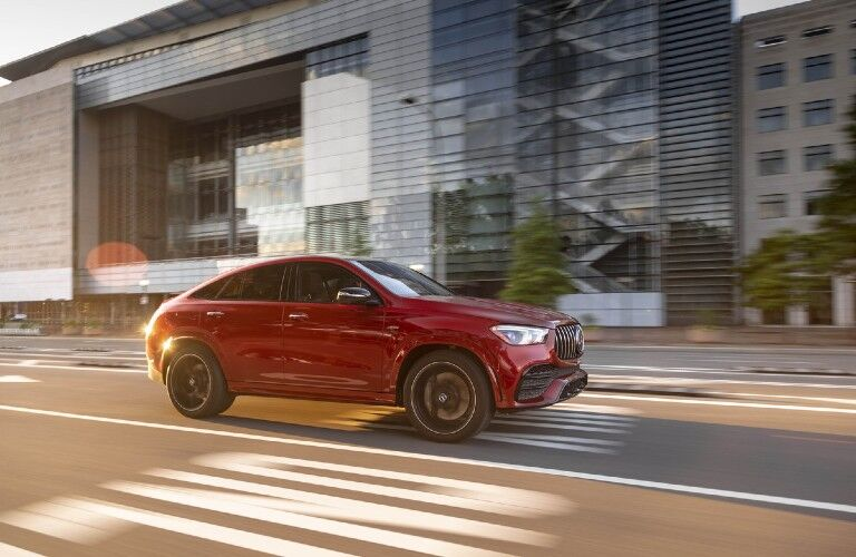 2021 Mercedes-Benz AMG® GLE Coupe on city road