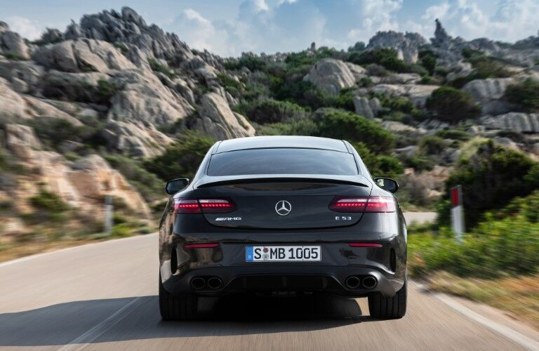 2021 Mercedes-Benz E-Class Coupe from rear