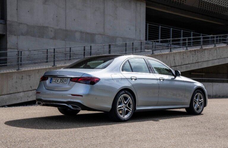 2021 Mercedes-Benz E-Class from rear