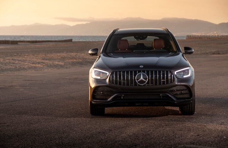 2021 Mercedes-Benz GLC SUV from exterior front