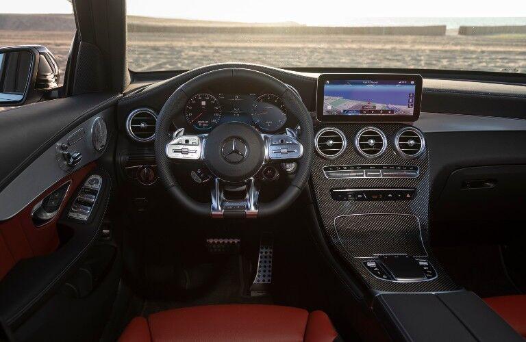 2021 Mercedes-Benz GLC SUV interior front dash