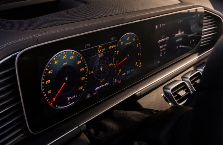 Display in 2021 Mercedes-Benz AMG® GLE Coupe