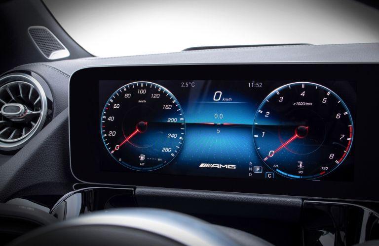 Display in 2021 Mercedes-Benz GLA
