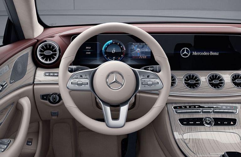 Interior front dash of 2020 Mercedes-Benz CLS