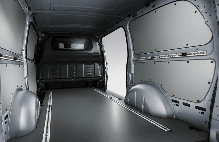 Interior of 2020 Mercedes-Benz Metris Cargo Van