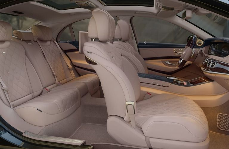 Interior seats of 2020 Mercedes-Benz S-Class