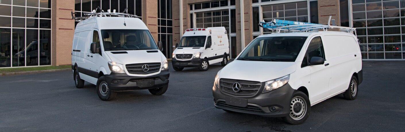 Mercedes-Benz Sprinter and Metris commercial vans