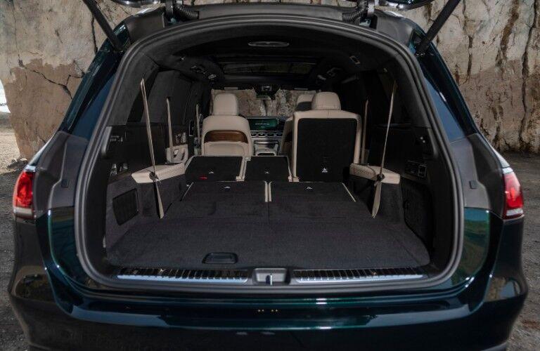 Storage space in 2021 Mercedes-AMG GLS 63