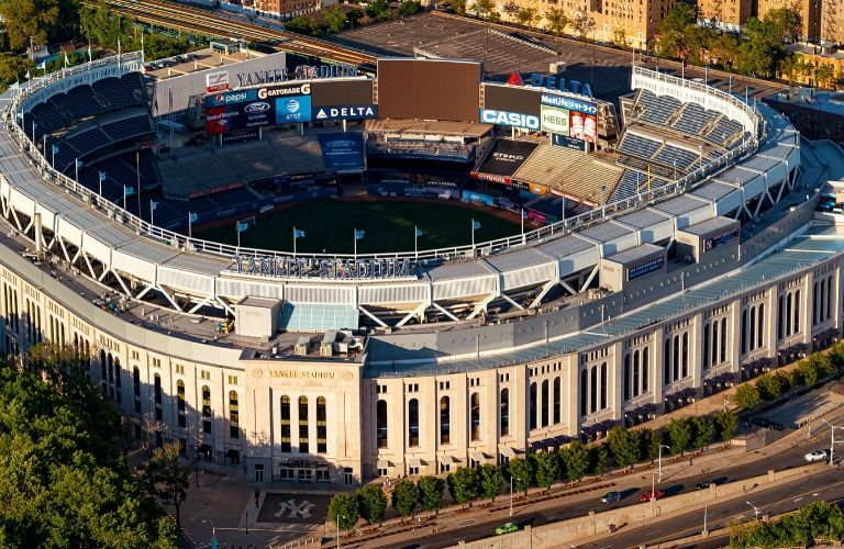 Yankee Stadium up close