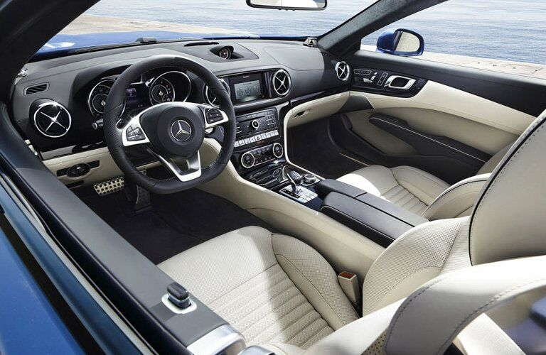 2017 Mercedes-Benz SL 450 Interior