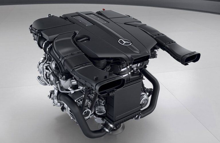 2017 Mercedes-Benz SL 450 Engine