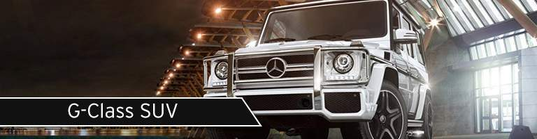 2017 mercedes-benz g-class suv shown in hangar in new york city ny