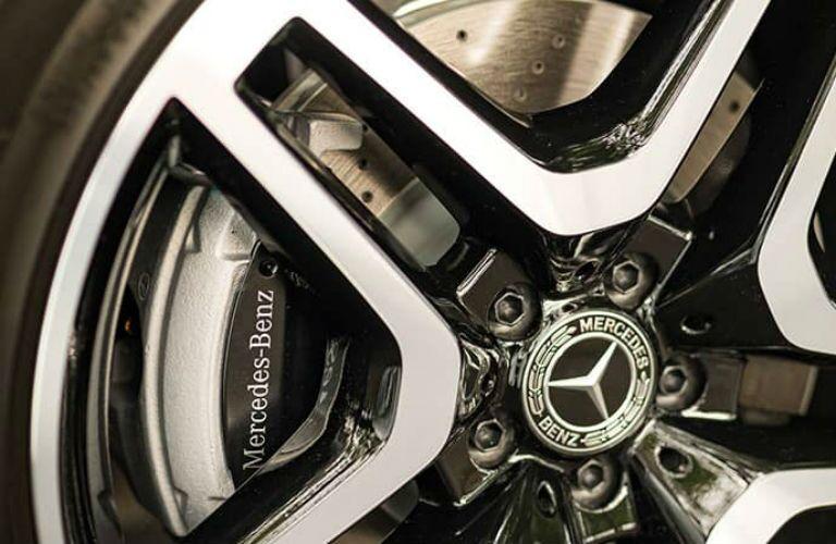 close-up look at a Mercedes-Benz Wheel