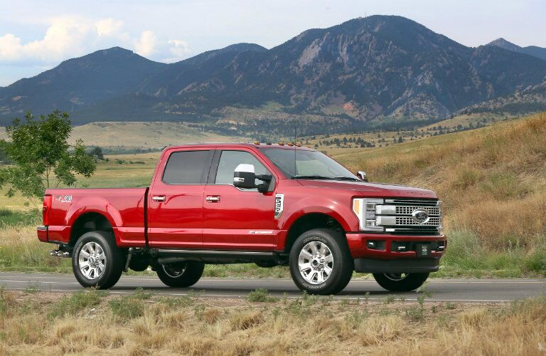 Ford F-250 Super Duty Side View