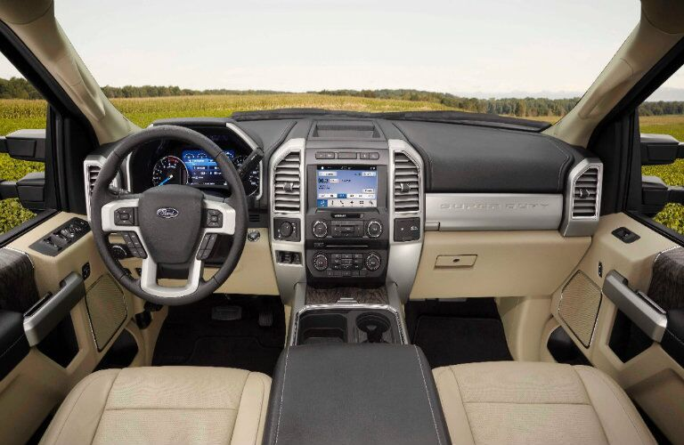 Ford F-250 Super Duty Driver and Passenger Seating