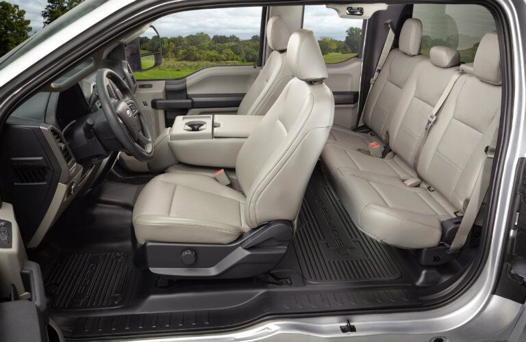Ford F-250 Super Duty Interior