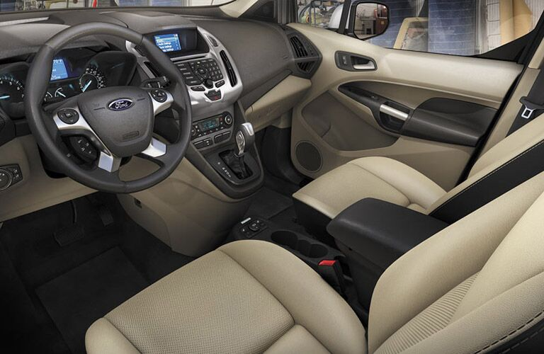 2017 Ford Transit Connect Front Interior