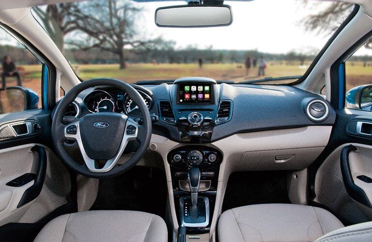 2017 Ford Fiesta dash and display