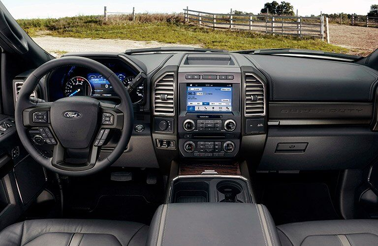 2017 Ford F-250 Super Duty interior