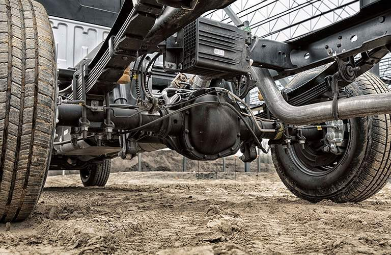 2017 Ford Super Duty Chassis Cab underbody