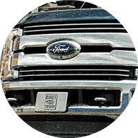 2017 Ford F-250 Super Duty grille