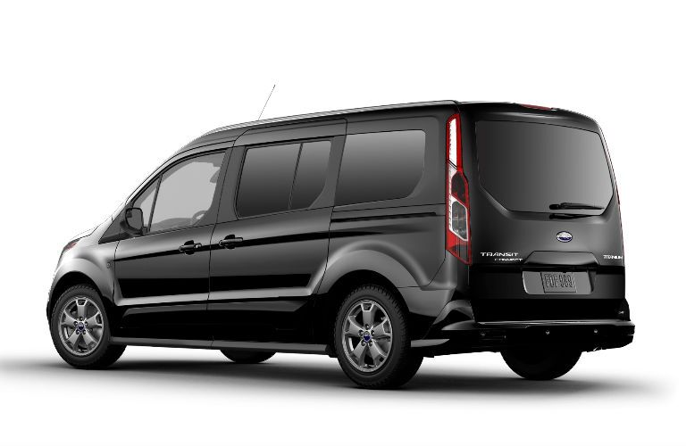 2017 Ford Transit Connect Titanium Passenger Wagon sliding doors