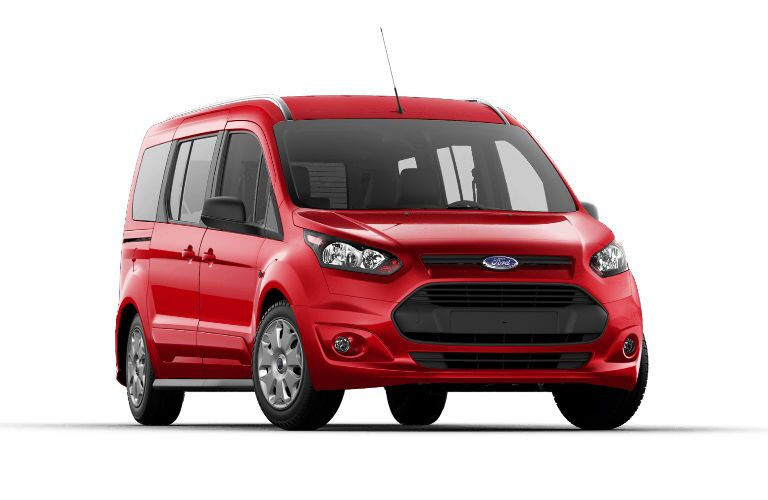 Red 2017 Ford Transit Connect XLT Passenger Wagon Calgary AB