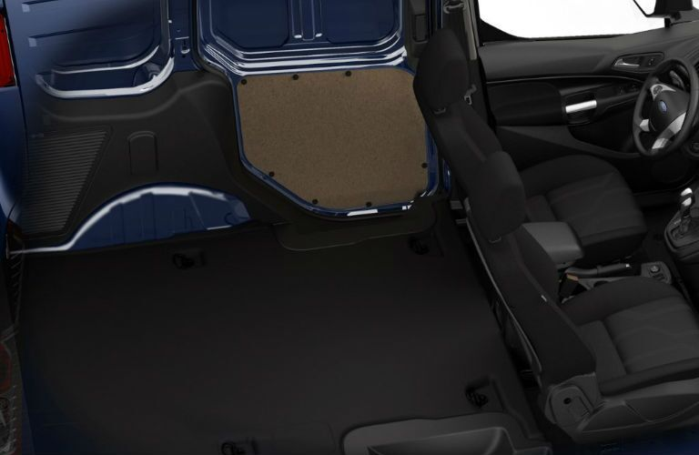 2017 Ford Transit XLT van interior space