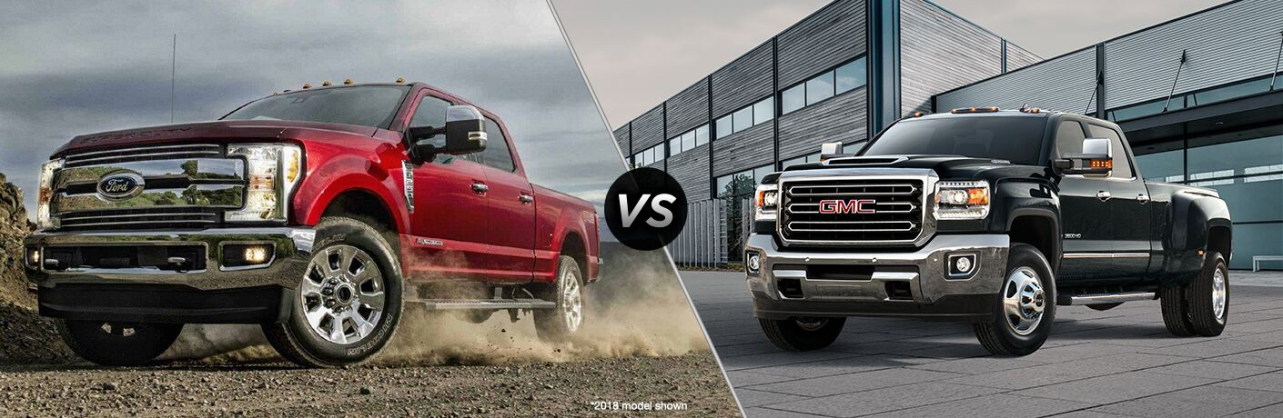 2019 Ford F-250 vs 2019 GMC Sierra 2500HD