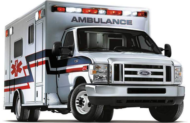 2018 Ford E-Series Cutaway Calgary AB - Ambulance Version