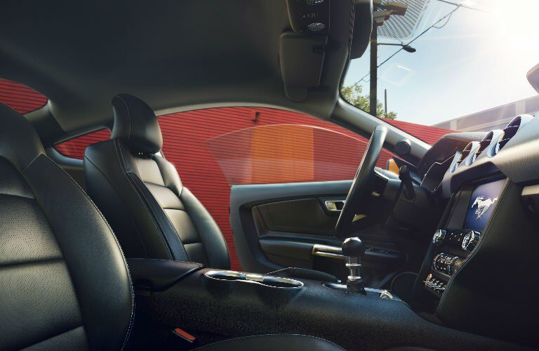 2018 Mustang infotainment system